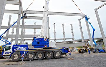 CARGO GROUP SLOVAKIA s.r.o. - preprava tovaru, logistika, skladovanie - Logistické centrum Trnava – Skelet 6