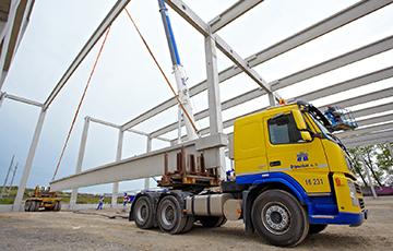 CARGO GROUP SLOVAKIA s.r.o. - preprava tovaru, logistika, skladovanie - Logistické centrum Trnava – Skelet 7